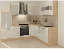Respekta Premium L Küche Akazie weiß (260x200 cm)