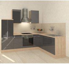 Respekta Premium L Küche Akazie grau (260x200 cm)