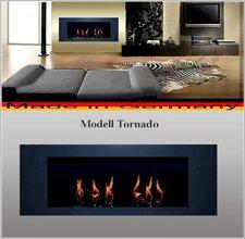 DF-Shopping Ethanolkamin Gelkamin Kamin Modell Tornado Anthrazit