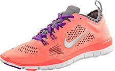 Nike Free 5.0 TR Fit 4 Wmn bright mango/wolf grey/cool grey/anthracite