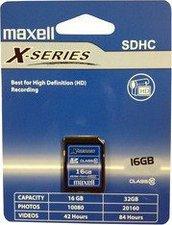 Maxell SDHC Card X-Series 16GB Class 10