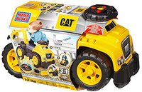 Mega Bloks First Builders DCH13 CAT Ride-On mit Baggerarm