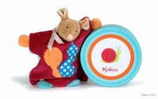 Kaloo Colours DouDou Mouse Puppet with Squirrel Motif Comfort Blanket