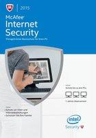 McAfee Internet Security 2015 (Multi) (Win) (3 User) (1 Jahr)