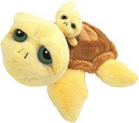 Russ Berrie Schildkröte Pebbles mit Baby 25 cm