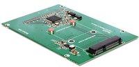 DeLock Konverter IDE 44 Pin > mSATA mit 2.5 Rahmen (62477)