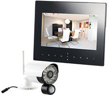 VisorTech Digitales Überwachungssystem DSC-720.mc mit 1 HD-Kamera