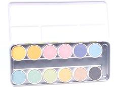 Ökonorm Wasserfarbkasten 12 Farben