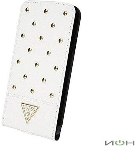 Guess Flip Cover Tessi Collection (Galaxy S5) White