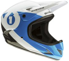 Sixsixone Rage Helmet Black-Cyan
