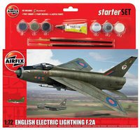 Airfix English Electric Lightning F.2A Starter Set (55305)
