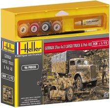 Heller Joustra German 3Ton 4x2 Cargo truck & Pak 40 (49994)