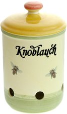 Zeller Keramik Biene Knoblauchtopf