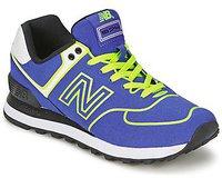New Balance WL574 neon blue/neon green (WL574NEB)