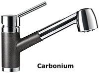 Schock Pila Schlauchbrause (Cristadur) carbonium