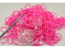 Maro Toys Magic Loom Bands 300 Stück rot