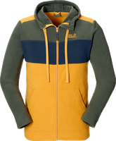 Jack Wolfskin Block Jacket Men Golden Yellow