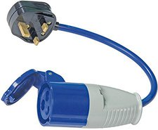 Silverline Tools 13A-16A Fly Lead Converter