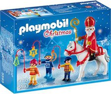 Playmobil Christmas - St. Nikolaus mit Laternenzug (5593)
