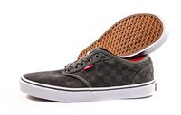 Vans M Atwood Suede Checkers pewter/white