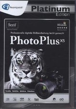 Serif PhotoPlus X5 Platinum Edition (DE) (Win) (Box)