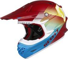 Scott 350 Pro Dirt rot/blau