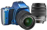 Pentax K-S1 Kit 18-55 mm + 50-200 mm (blau)