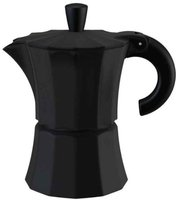 Gnali & Zani Morosina 6-Cup Coffee Maker Black