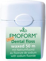 Dr. Wild Emoform Dental floss waxed Mint (50 m)