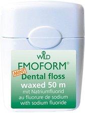 Dr. Wild Emoform Dental floss waxed Mint (50 m)
