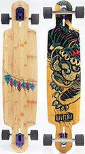 Riviera Longboards Kung Fu Kitty