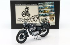"Minichamps Triumph TR6  ""The Great Escape "" Steve McQueen (133500)"