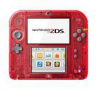 Nintendo 2DS rot transparent