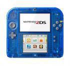 Nintendo 2DS blau transparent