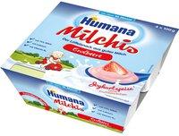 Humana Milchis Erdbeere (4 x 100 g)