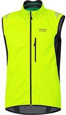Gore Element Windstopper Soft Shell Weste neon gelb/schwarz