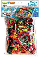 Maro Toys Magic Loom Bands 600 Stück mixed color