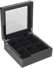 Giftcompany Tang Uhrenbox für 6 Uhren schwarz