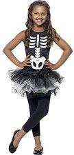Smiffys Mädchen-Kostüm Skeleton Tutu