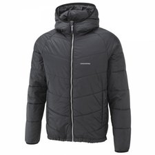 Craghoppers Men's CompressLite Packaway Hooded Jacket Black