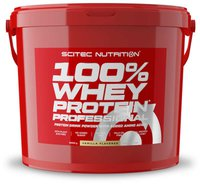 Scitec Nutrition 100% Whey Protein Professional Vanille 5000g