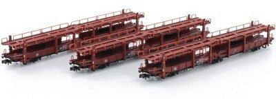 Hobbytrain Autotransportwagen-Set DB (H23924)