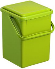 Rotho Komposteimer 8L grün