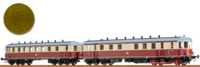 BRAWA Dieseltriebwagen VT 137 / Beiwagen VB 147 DR (44361)