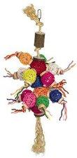 Nobby Vogelspielzeug mit Holz, Sisal und Weide (52 x 20 cm)