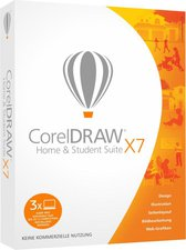 Corel Draw X7 Graphics Suite Home + Student (DE) (Win) (Box)