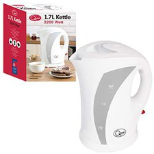 Quest Leisure 35010 1.7 Litre White Kettle