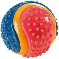 Hunter TPR Ball tricolor mit Glocke M (10 cm)
