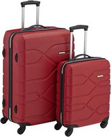 American Tourister Houston City 4-Rollen-Trolley Set 2-tlg. 55/75 cm red