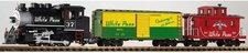 Piko Start-Set Güterzug mit Dampflok White Pass & Yukon (37106)